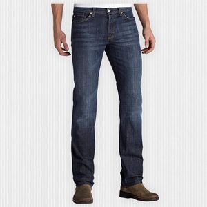"""7 For All Mankind Blue Standard Jeans 36"""""""